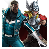 Blue Marvel and Thor (Jane Foster) Spec Op Reward Icon