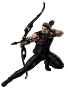 Hawkeye-B 3 Portrait Art