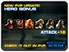 New pvp update