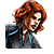 Black Widow Icon 4