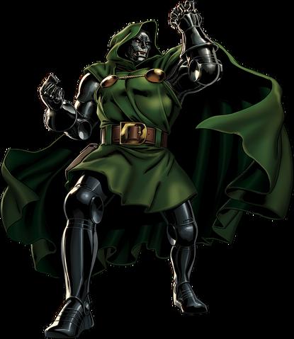 File:Doctor Doom Portrait Art.png