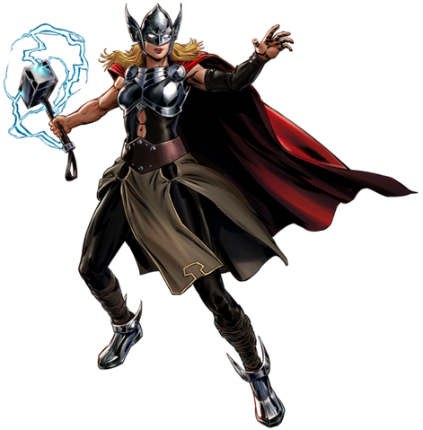 File:Thor (Jane Foster) Portrait Art.png