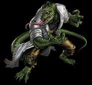 Lizard Portrait Art