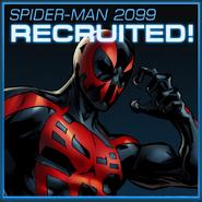Spider-Man 2099 Recruited