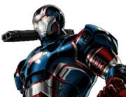 Iron Patriot Armor Dialogue