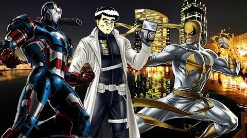 PVP 25 Iron Fist & War Machine. Marvel Avengers Alliance Agente ANNHE Friki