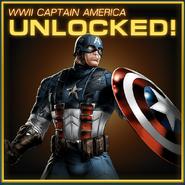 Captain America WWII Unlocked