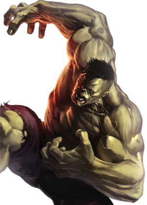 Hulk Marvel XP