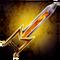 Molten Demonic Dagger