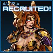 Angela Recruited