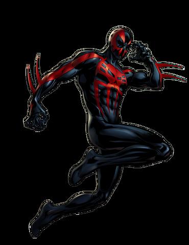 File:Spider-Man 2099 Portrait Art.png