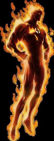 File:Human Torch Portrait Art.png