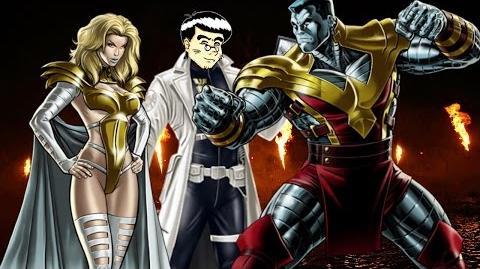PVP 26 COLOSSUS EMMA FROST (Adamantium League) Marvel Avengers Alliance Agent Agente ANNHE