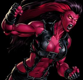 Red She-Hulk Dialogue 1