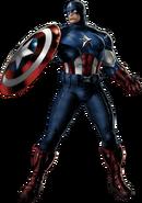 Captain America-B Portrait Art