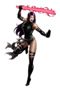 X-Force Psylocke Portrait Art