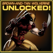 Wolverine Brown-and-Tan Unlocked