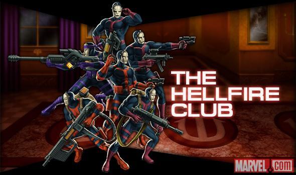The Hellfire Club Marvel.com Art