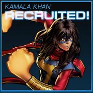 Kamala Khan Recruited