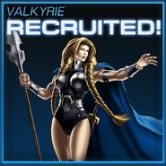 Valkyrie Recruited
