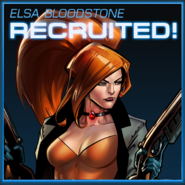 Elsa Bloodstone Recruited