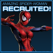 Amazing Spider-Woman Recruited