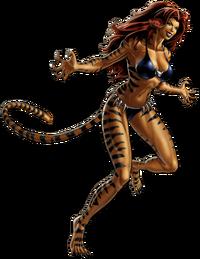 Tigra Portrait Art