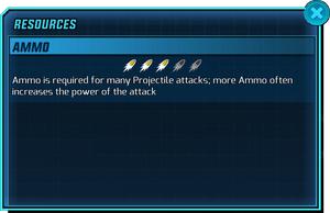 Resources - Ammo