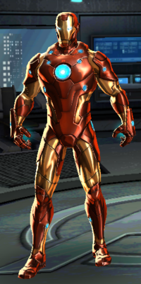 Bleeding Edge Iron Man Model