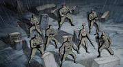 Howling commandos members