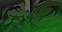 Hulk fighting Abomination