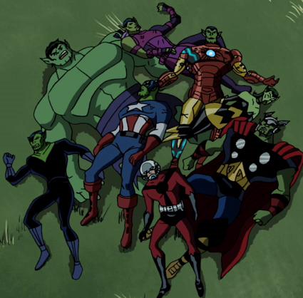 File:Avengers Skrulls Assemble!.PNG