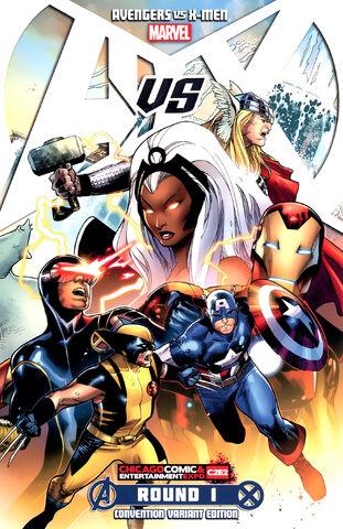 File:Avengers vs X-Men Vol 1 1 (Convention Variant).jpg