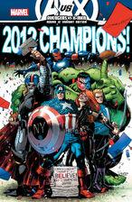 Marvel NYCC AvengersVSXMen 12 AvengersVariant