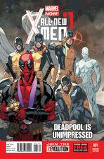 All New X-Men 1 Variant 2 Dreadpool