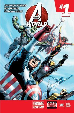 Avengers-World-001-John-Cassaday-Cover