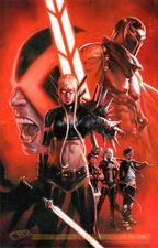 Uncanny X-Men Vol 3 1 Gabrielle Dell'Otto's variant Textless
