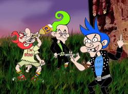 The Munchkin Trio