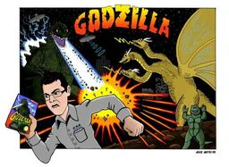 Normal AVGN Godzilla by mikematei