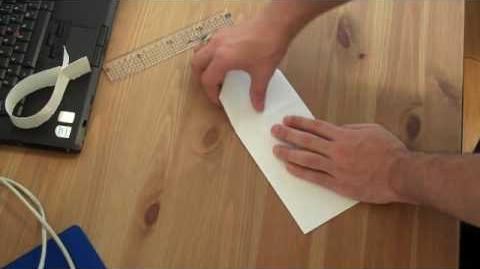 How to make a flying fish paper airplane