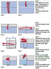 Triplet paper airplane