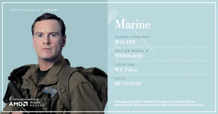 """A """"certificate of imprint"""" for a WALTER (Marine) unit"""