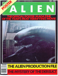 Alien Official Poster Mag II