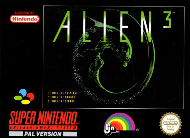 Alien 3 1993 Snes Game Xenopedia Fandom Powered By Wikia
