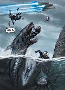 Deacon sharks attacking