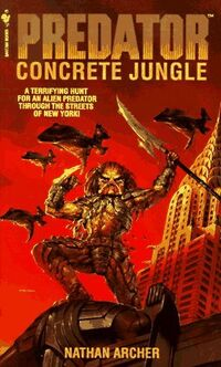 Predator Concrete Jungle novel