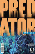 Variant cover of Predator- Hunters issue