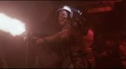 Hudson fires M41A