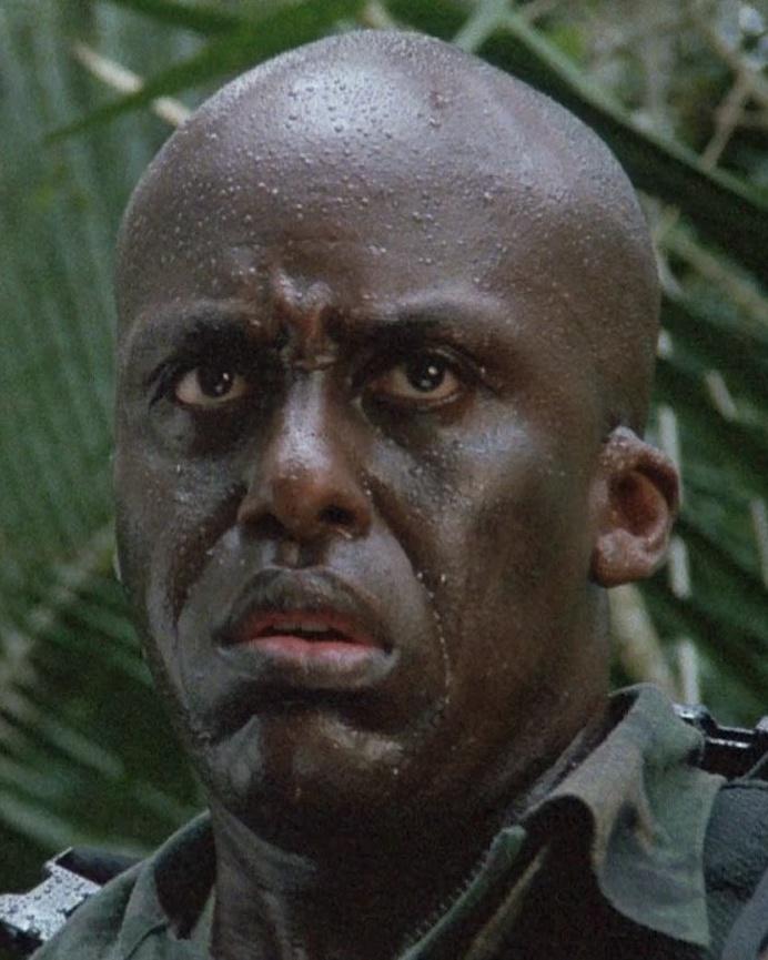 黒人の軍人マック・エリオット
