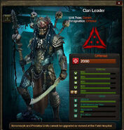 Clan Leader clone 2